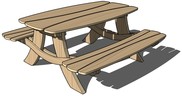 Wood Work Bench Clipart