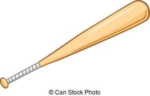 Wooden Baseball Bat. Wooden Baseball Bat. bat clipart
