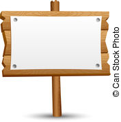 ... Wooden blank sign-... Wooden blank sign-10