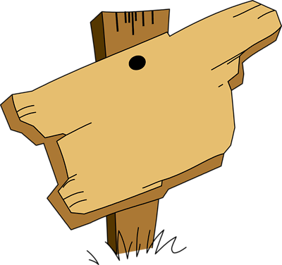 Wooden Sign Clipart - . - Wooden Sign Clipart