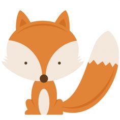 Woodland baby fox clipart-Woodland baby fox clipart-12