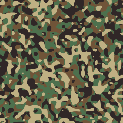 Woodland Camouflage Clipart