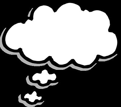 ... Word bubble printable thought bubbles clipart image - Clipartix ...