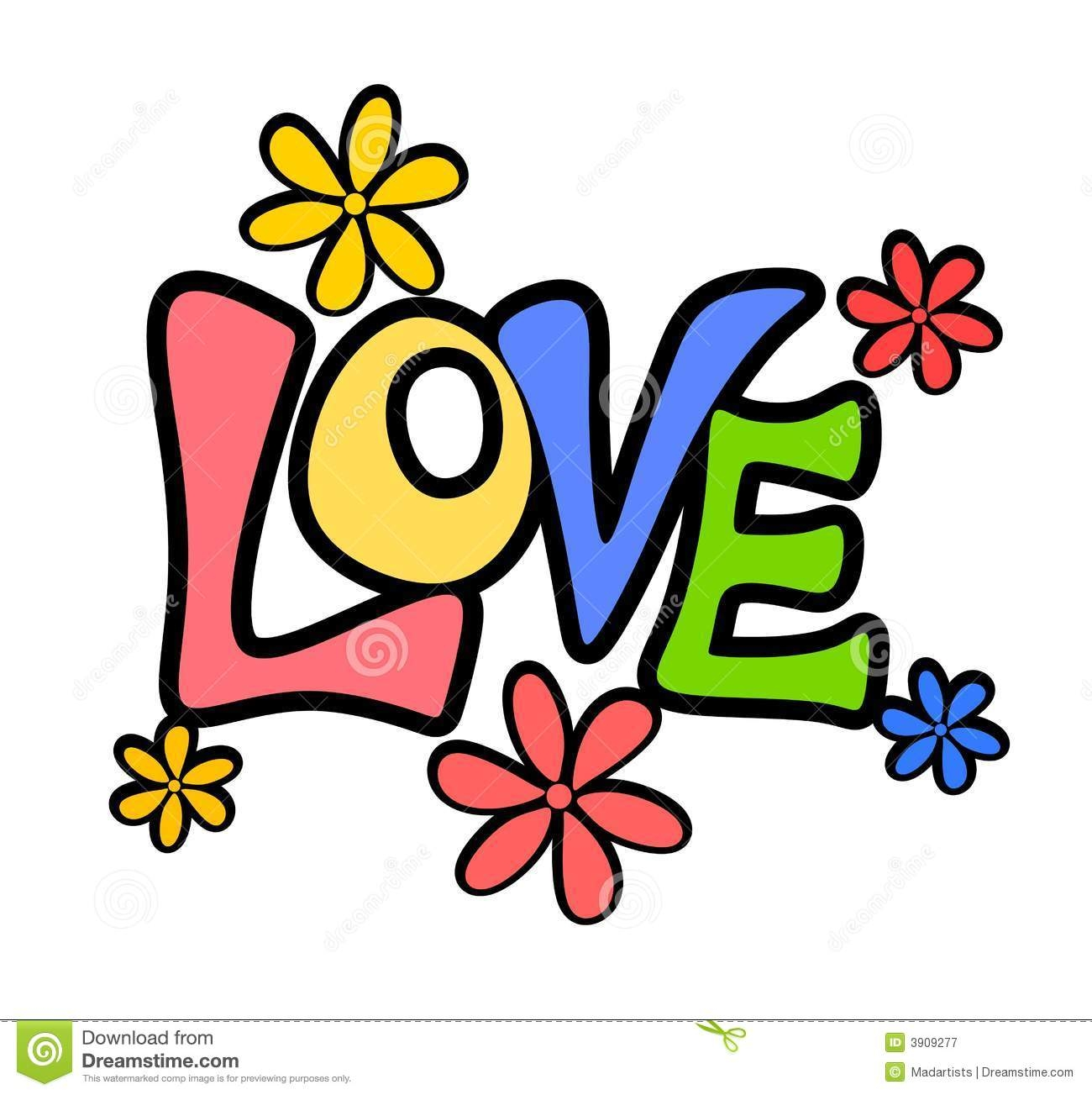 Word Love Clipart