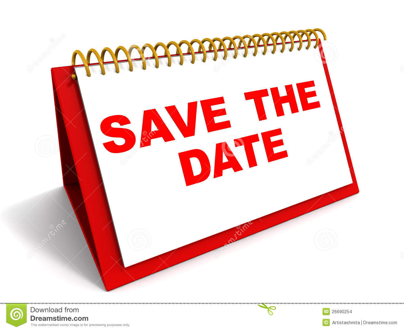 Words Save The Date On A Calender In Red-Words Save The Date On A Calender In Red Reminder And Date Saving-19
