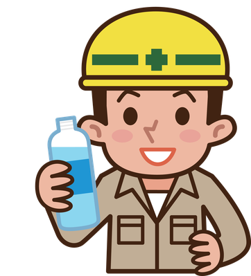 Worker Drinking Water   Clipart-Worker Drinking Water   Clipart-12