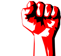 Worker Fist Clipart .