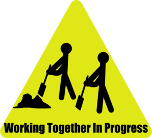 Working Together In Progress Clip Art At Clker Com Vector Clip Art