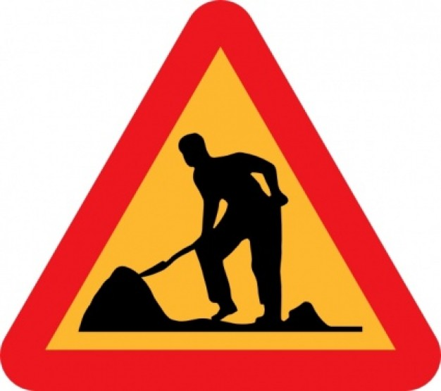 Workman Ahead Roadsign clip art Vector |-Workman Ahead Roadsign clip art Vector | Free Download-14