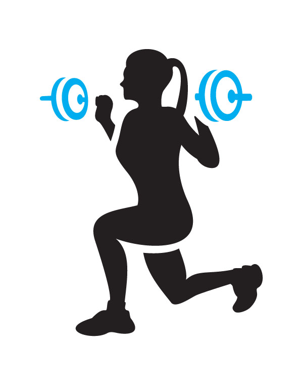 Workout cliparts. Workout Clip Art