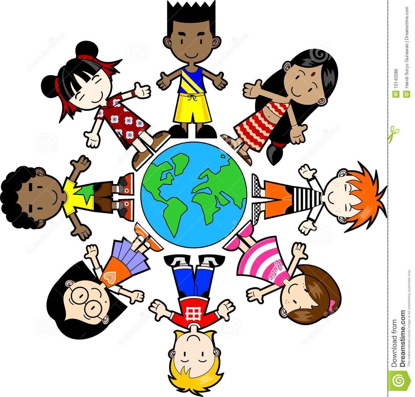 world map clip art for kids