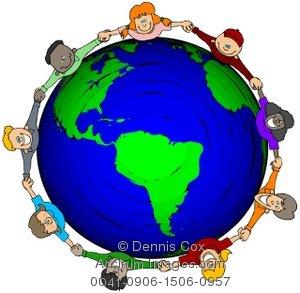 world map clip art for kids - The World Clipart