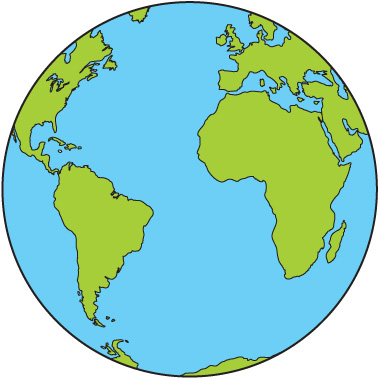 World earth clip art free cli - The World Clipart