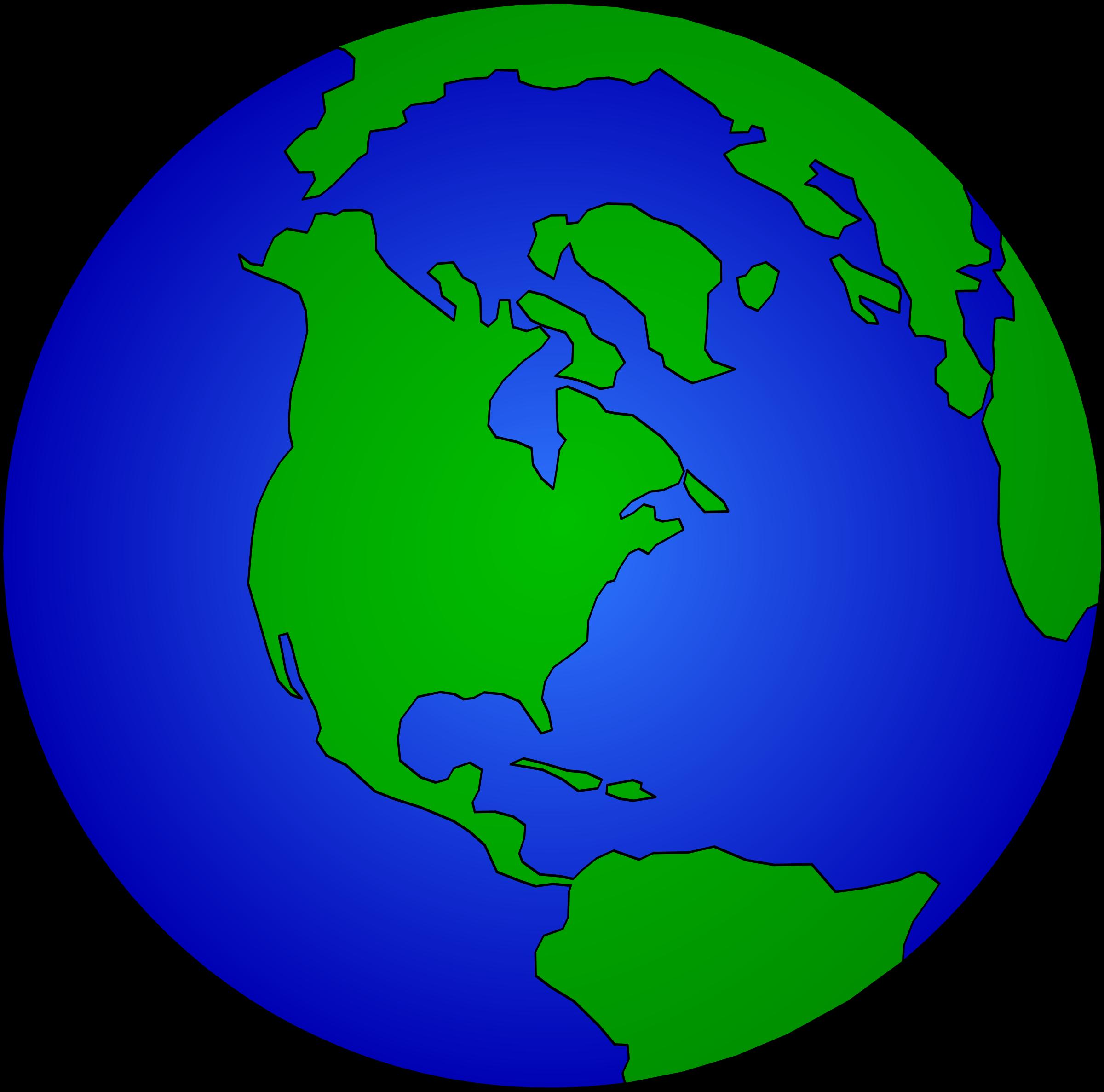 World Image Clip Art - The World Clipart