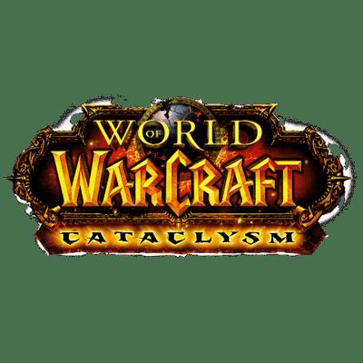 World Of Warcraft Cataclysm Logo-World Of Warcraft Cataclysm Logo-6
