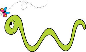 Worm Clip Art-Worm Clip Art-13