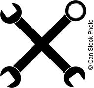 wrenches Drawingsby chisnikov - Wrench Clipart