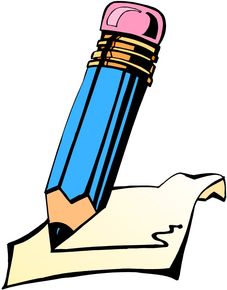 Writing Clip Art - Writing Clip Art