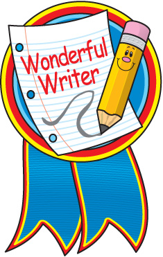 Writing Clipart Image #8596