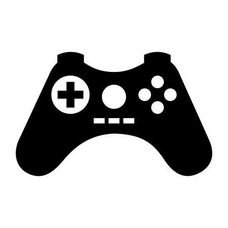 video game control icon vector illustrat-video game control icon vector illustration design-17