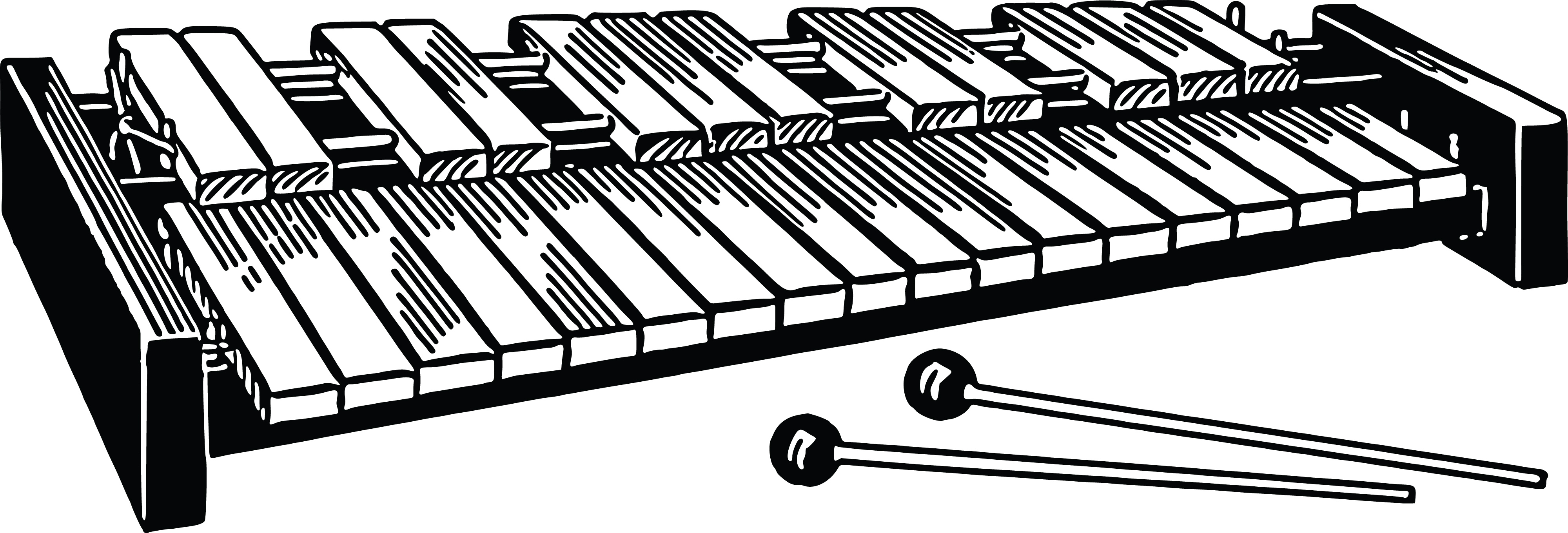 Xylophone Clipart-Clipartlook.com-4000