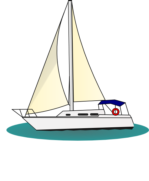 Yacht Clip Art At Clker Com Vector Clip -Yacht Clip Art At Clker Com Vector Clip Art Online Royalty Free-0