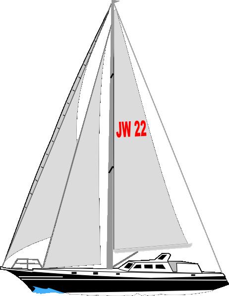 Yacht Clip Art