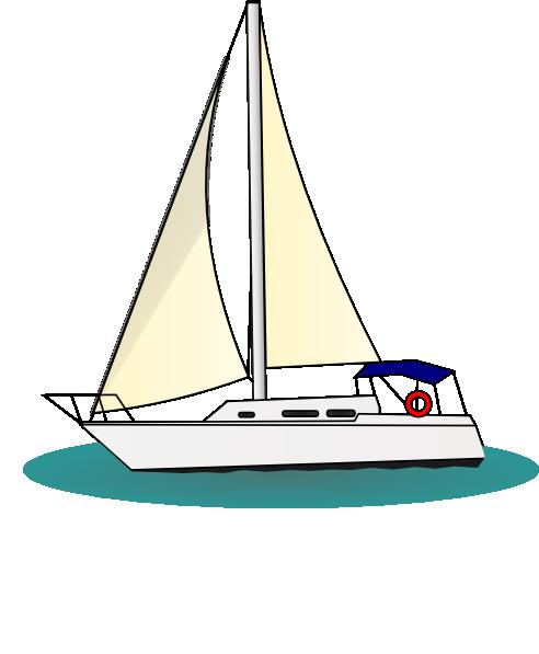 Yacht clip art-Yacht clip art-3