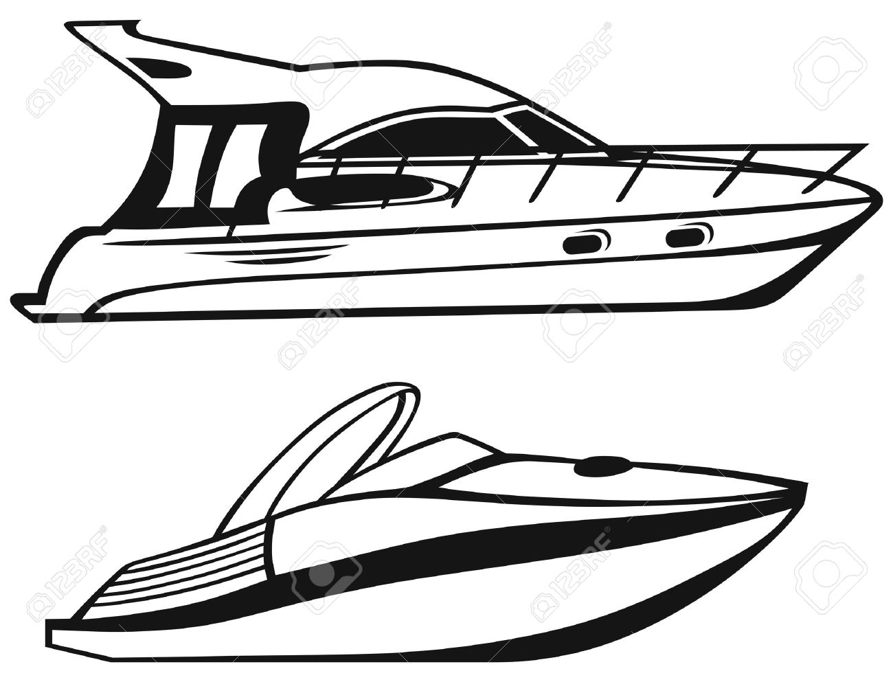 yacht clipart black and white_3-yacht clipart black and white_3-21