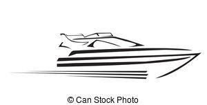 ... Yacht Symbol Vector Illustration