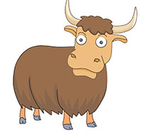 Yak Clipart. Search Results-Yak Clipart. Search Results-8