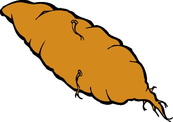 Yam Sweet Potato Vegetable Clip Art At Clker Com Vector Clip Art