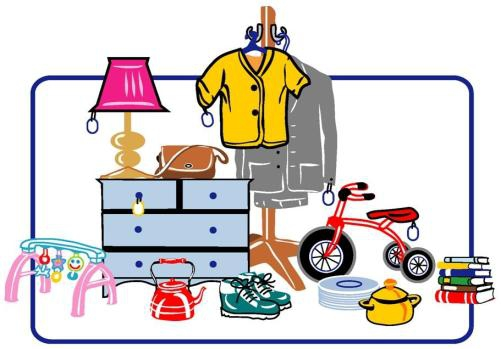 Yard sale flyers clipart clipart kid