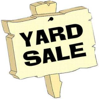 Yard Sale Signs Clipart