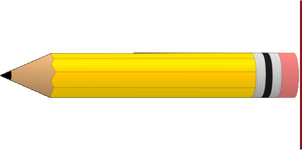 Yellow 2 Pencil Clip Art At Clker Com Vector Clip Art Online