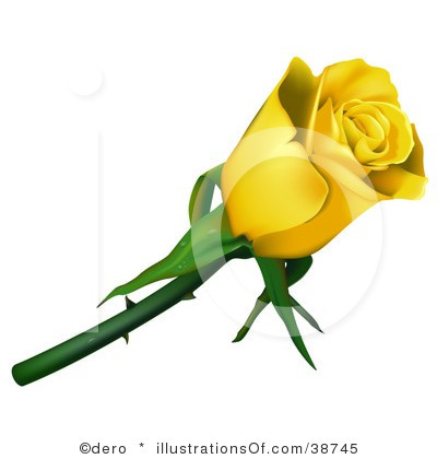 yellow rose border clip art-yellow rose border clip art-16