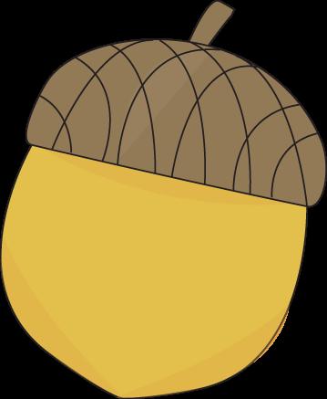Yellow Acorn Clip Art Image Yellow Autum-Yellow Acorn Clip Art Image Yellow Autumn Acorn With A Brown Cap-18