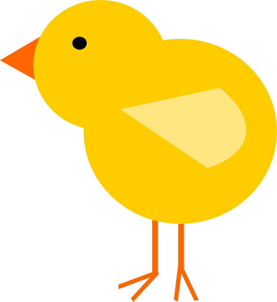 Yellow Baby Chick Clip Art At Clker Com -Yellow Baby Chick Clip Art At Clker Com Vector Clip Art Online-17