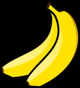 Yellow Banana Clipart