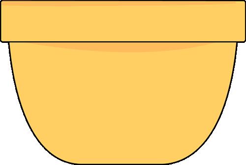 Yellow Bowl Clip Art - Yellow Bowl Image