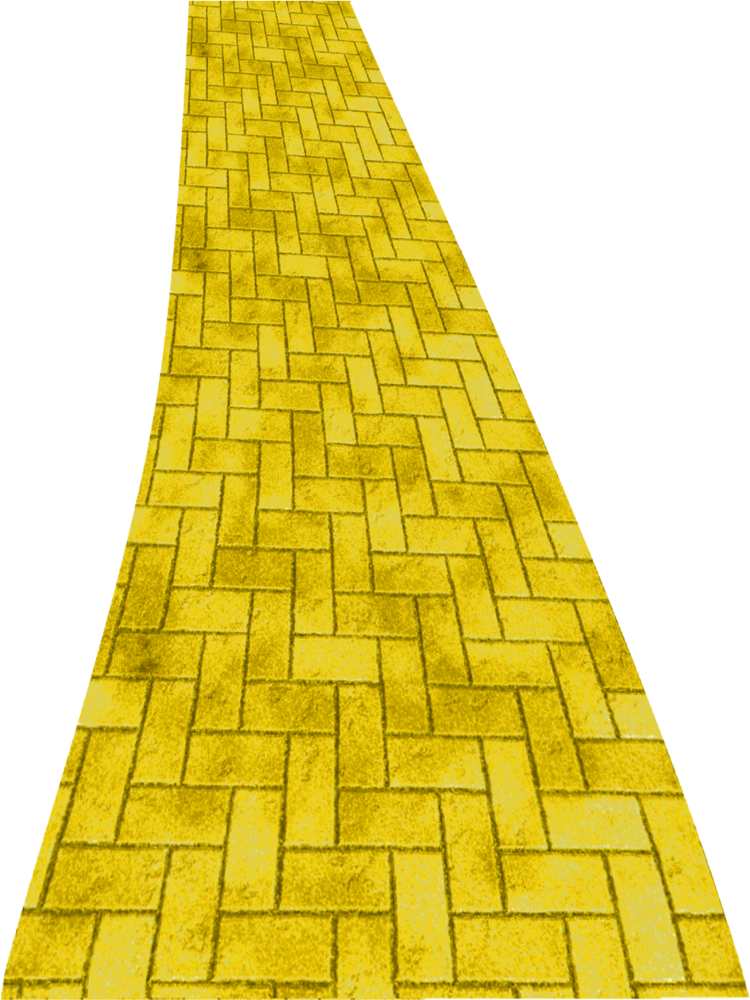 Yellow Brick Road Png Clipart By Clipartcotttage On Deviantart