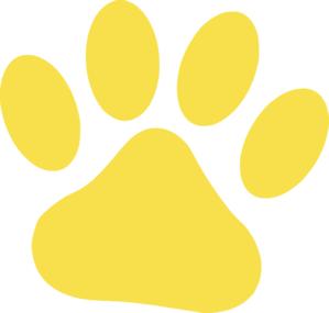 Yellow Cat Paw Clip Art-Yellow Cat Paw Clip Art-18