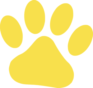 Yellow Cat Paw Clip Art-Yellow Cat Paw Clip Art-15