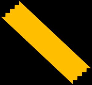 Yellow Duct Tape Clip Art At Clker Com Vector Clip Art Online
