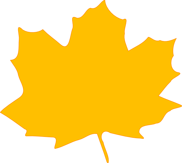 Yellow Fall Leaf Clip Art At . .