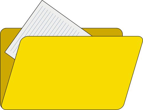 Yellow File Folder-Yellow File Folder-16