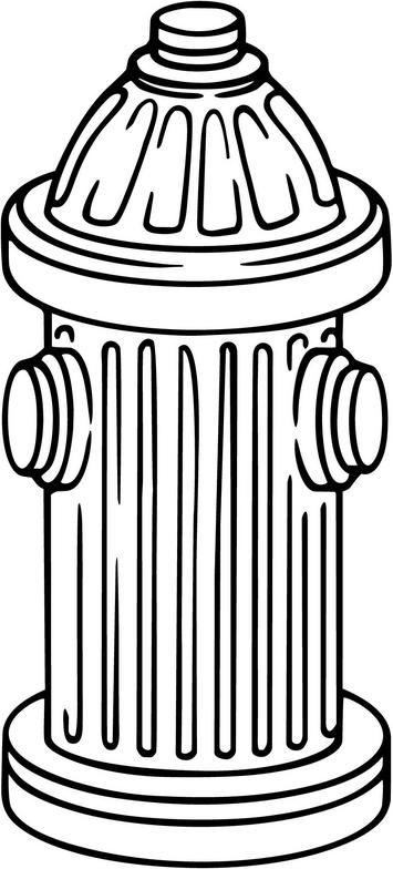Yellow Fire Hydrant Clipart - - Fire Hydrant Clipart