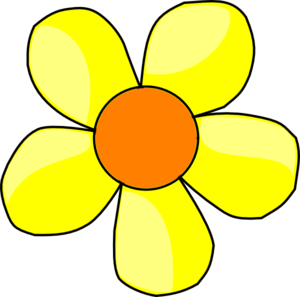 Yellow Flower Clip Art At Clker Com Vect-Yellow Flower Clip Art At Clker Com Vector Clip Art Online Royalty-2