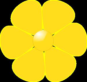 Yellow Flower Clip Art At Clker Com Vect-Yellow Flower Clip Art At Clker Com Vector Clip Art Online Royalty-7