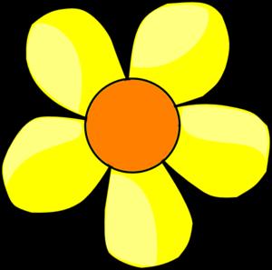 Yellow Flower Clip Art At Clker Com Vect-Yellow Flower Clip Art At Clker Com Vector Clip Art Online Royalty-9